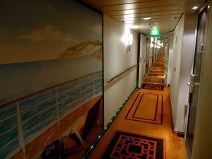 cruise deck corridor