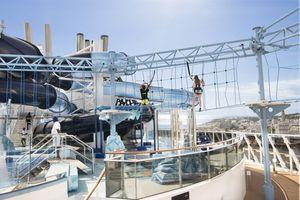 cruise pool deck sport