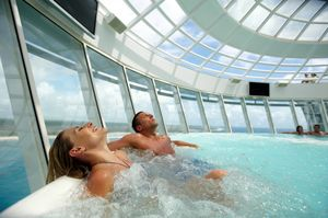 cruise inside pool
