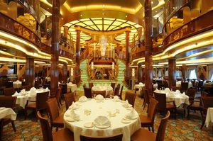 cruise alacarte restaurant