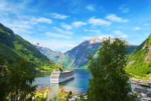 msc cruise in fjords