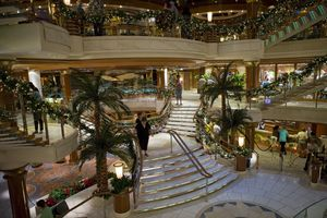 cruise deck stairs
