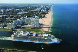 royal caribbean cruise from air