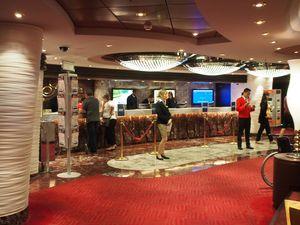 cruise reception desk