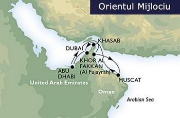 middle east itinerary