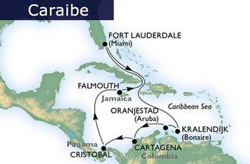 caribbean itinerary