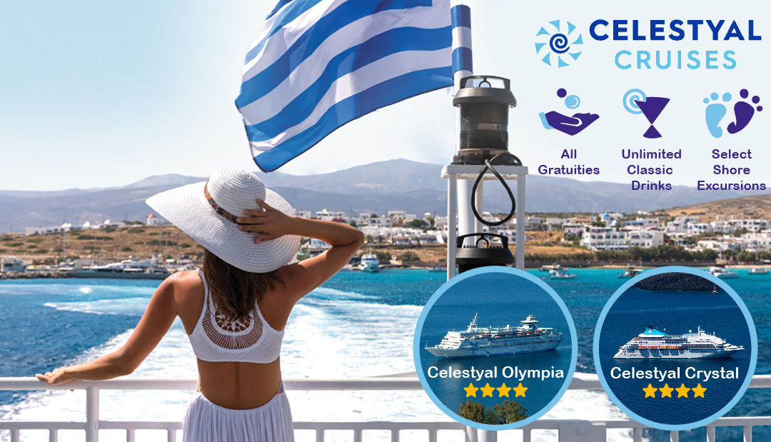 Promotie: Greece is waiting for you on legendary cruises